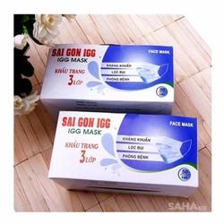Combo 2 hộp khẩu trang 3 lớp kháng khuẩn