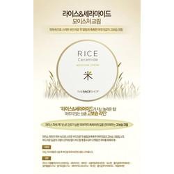 Kem dưỡng gạo Rice Ceramide Moisture Cream TheFaceShop