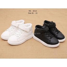 Giày trắng trẻ em học sinh GC12A - GC12