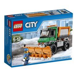 Đồ chơi Lego City 60083 Xe Tải cào tuyết Snowplow Truck