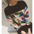 áo thun tay dài màu sắc Mã: AX2614 - ĐEN