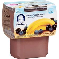 Trái Cây Nghiền Gerber Chuối  Mixed Berries