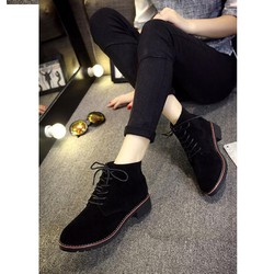 Giày bốt nữ sành điệu, trẻ trung và cá tính - Mã số MM90131