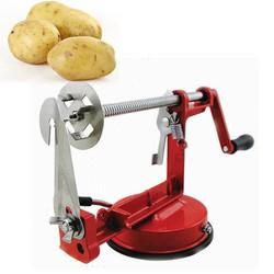 máy làm khoai tây lốc xoáy korea