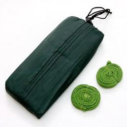 Võng dù du lịch An Thịnh võng 2 lớp, túi vải và 3m dây dù