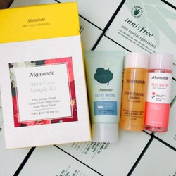 Bộ Kit Dưỡng Da Mini Mamonde Skin Care Sample Kit