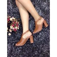 Giày cao gót giả boot thời trang