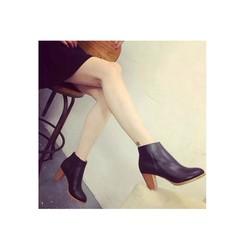 Giày bốt nữ cao gót sành điệu -  Mã số MM90117