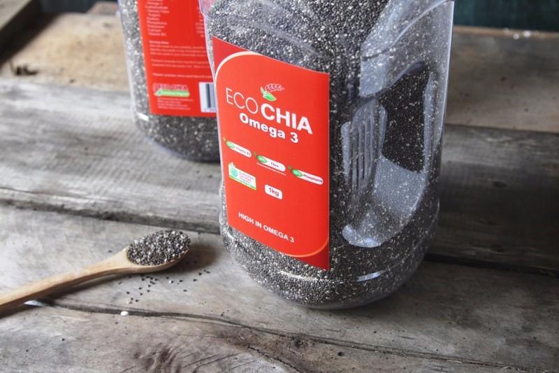ECO CHIA Omega 3 - Hạt chia cao cấp của Úc - Hộp 1kg 1