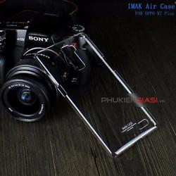 Ốp lưng trong suốt nhựa cứng Imak cho Oppo R7