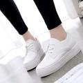 Giày nữ thể thao nữ màu trắng dễ thương mẫu mới nhất - SG0116