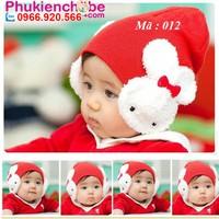 Mũ len cho bé 0 - 18 tháng