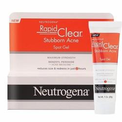 Kem trị mụn Neutrogena Rapid Clear Stubborn Acne Spot Gel