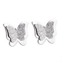Bông tai Titan bướm bạc
