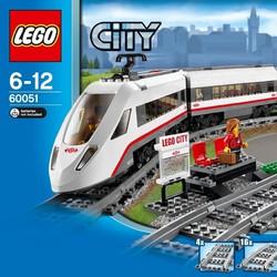 Đồ chơi LEGO City 60051 - Xe Lửa Siêu Tốc