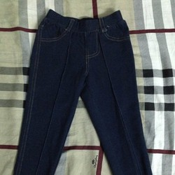 Legging Jean xanh den