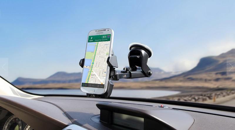 Giá treo - đỡ - kẹp điện thoại ô tô gắn táp lô - iOttie EOT2, Mỹ 2