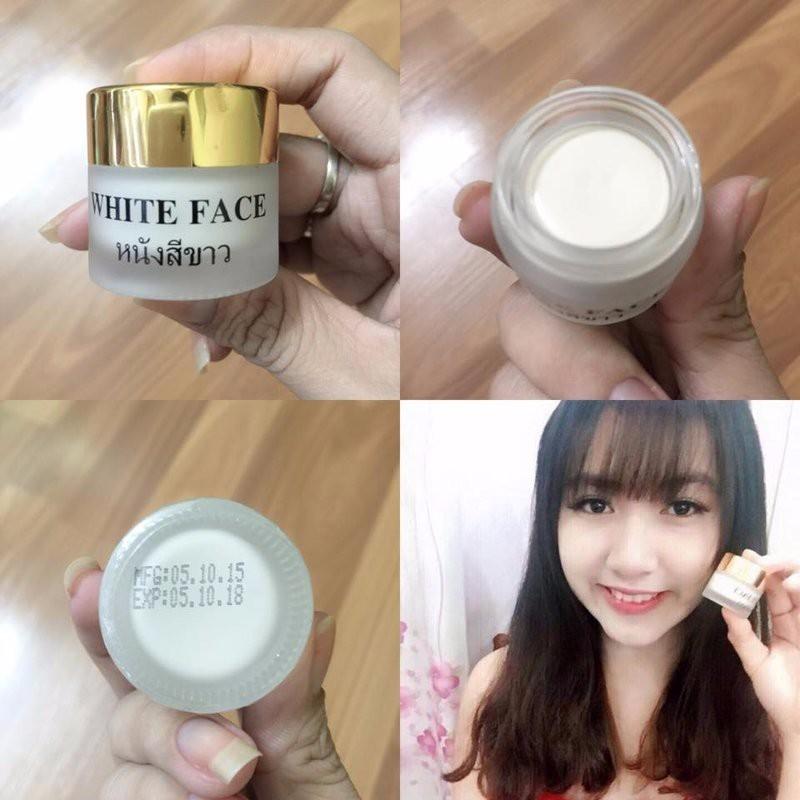 Kem Dưỡng Da Mặt Trắng Da White Face Thailand 1
