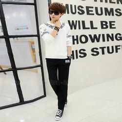 Bộ quần áo thể thao phong cách Hàn Quôc - Mã số: BQA1515