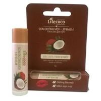 Son dưỡng môi dầu dừa Lifecoco