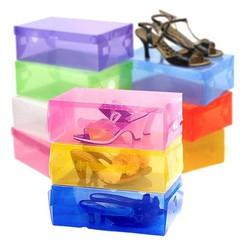 Combo 5 hộp đựng giầy trong suốt tiện dụng