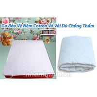 Ga bảo vệ nệm Cotton và vải dù chống thấm