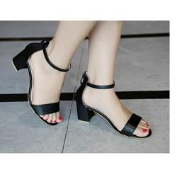 Giày Gót Vuông Sang Trọng