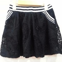 HaCo_Hàng nhập Váy ngắn 2 túi xéo phía trước