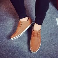 DC048 - Giày da Hàn Quốc form POSA