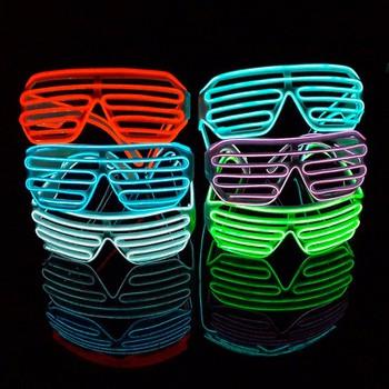 Mắt kính đèn led phát sáng