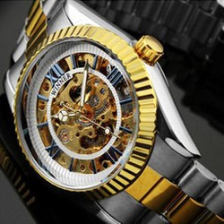 Đồng hồ lộ máy Automatic Winner Gold cổ điẻn - Mã số: DH15238