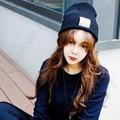 nón mũ len thời trang phong cách Hàn thiết kế mới