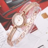 Đồng hồ KINGGIRL lắc tay ngọc dọc KG003