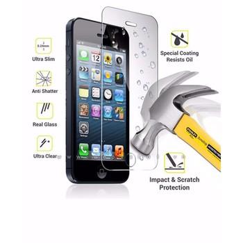 Miếng dán cường lực iPhone 5, 5S Hai mặt