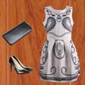 Đầm Gấm 3D Họa Tiết Đẹp