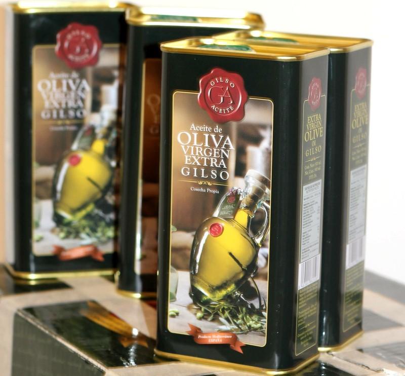 Dầu Olive Tây Ban Nha Extra Virgin Olive Oil Gilso 2