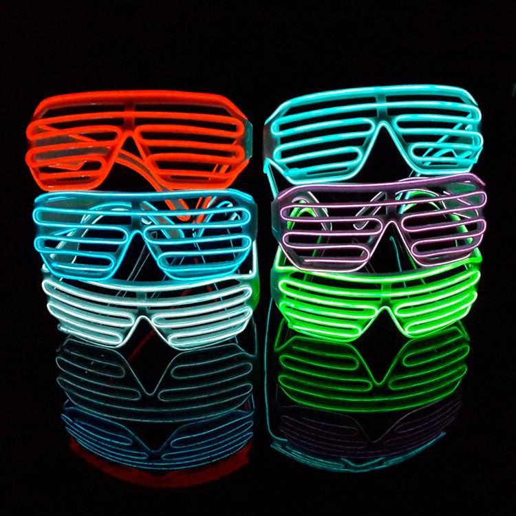 Mắt kính đèn led phát sáng 2