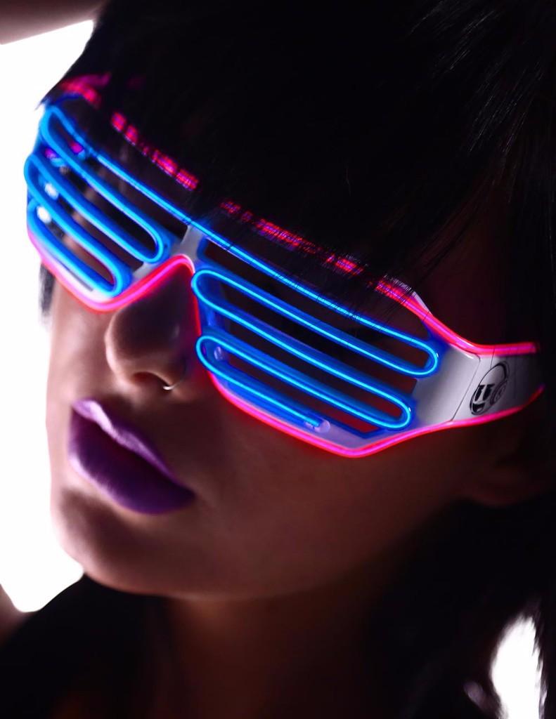Mắt kính đèn led phát sáng 3