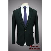 Áo vest nam body thời trang cao cấp TUTTAT 88007-10 Xanh rêu