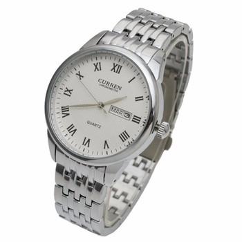 Đồng hồ nam dây da cao cấp chống thấm, chống xước