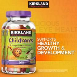 Kẹo Kirkland Complete Children's Multivitamin Gummies 160 viên