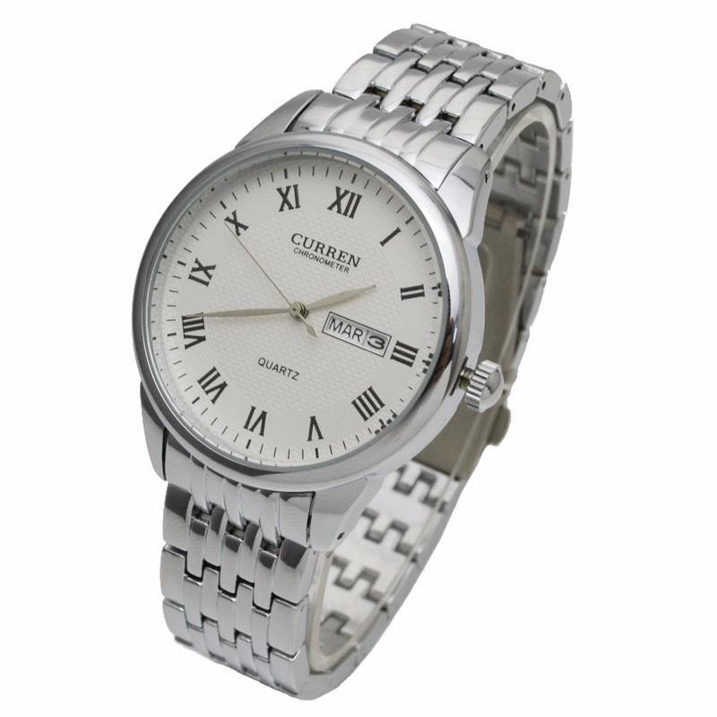 Đồng hồ nam dây da cao cấp chống thấm, chống xước 2