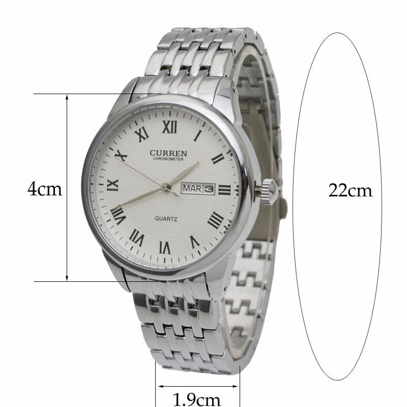 Đồng hồ nam dây da cao cấp chống thấm, chống xước 3