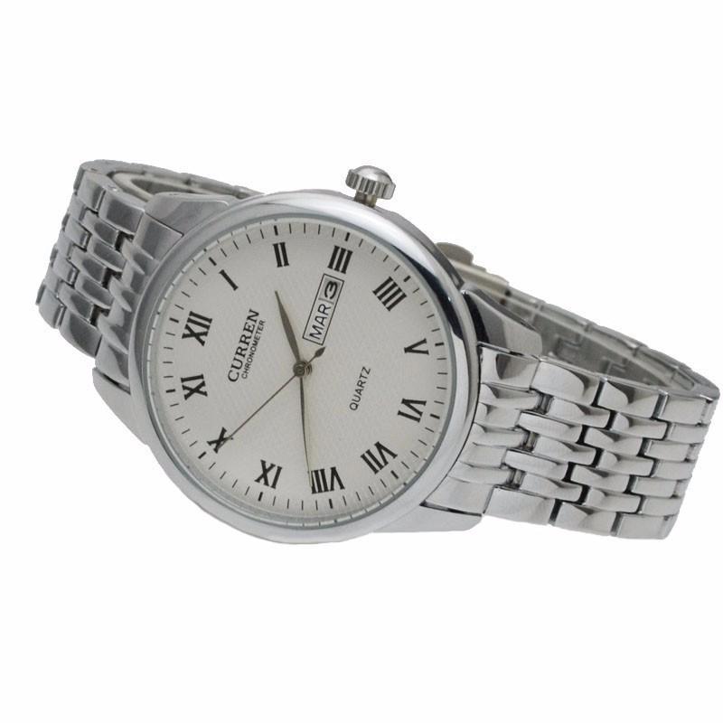 Đồng hồ nam dây da cao cấp chống thấm, chống xước 1