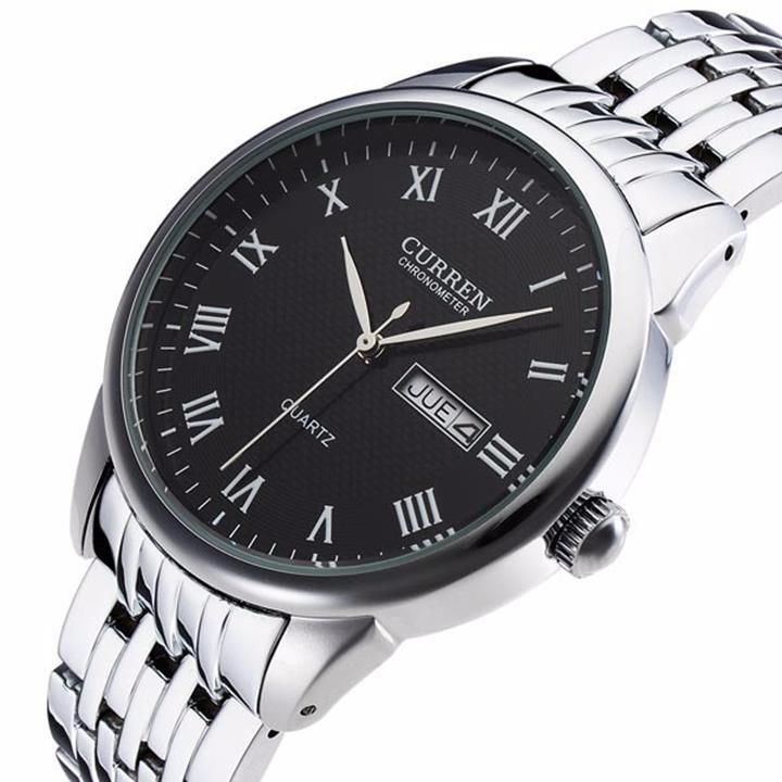 Đồng hồ nam dây da cao cấp chống thấm, chống xước 7