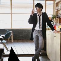 Áo Cardigan len dáng dài Hàn Quốc, hàng nhập - Mã số: AL1515