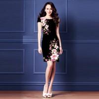 Đầm 3d Hoa Ly