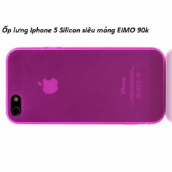 .IPhone 5: ốp lưng, Ốp Silicon IPhone 5 EIMO