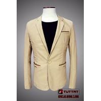 Áo vest thô, vest kaki nam TUTTAT 88003-16 Vàng kem