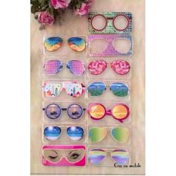 Ốp iphone 5 mắt kính thời trang